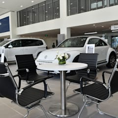 SHOWROOM Ô TÔ VOLKSWAGEN SÀI GÒN:  Đại lý xe hơi by VAN NAM FURNITURE & INTERIOR DECORATION CO., LTD.