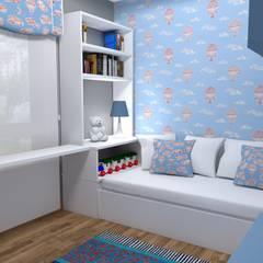 PROYECTO URBANIZACIÓN: Habitaciones de niños de estilo  de PLAN B INTERIORISMO