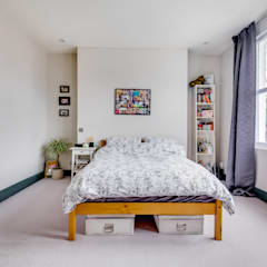 House renovation, house extension:  Bedroom by LDN Build