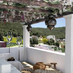 Can Escarrera 1: Giardino in stile  di architetto stefano ghiretti