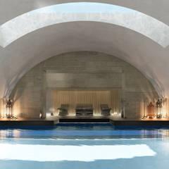 Piscinas de estilo  por architetto stefano ghiretti