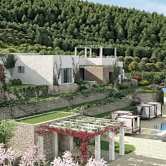 Can Escarrera 2: Case in stile  di architetto stefano ghiretti