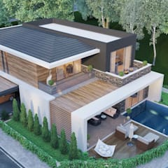 ANTE MİMARLIK  – Murat T. -  Villa:  tarz Villa, Modern
