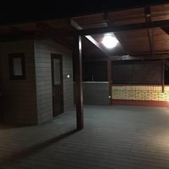 Reforma integral duplex Majadahonda: Terrazas de estilo  de Simetrika Rehabilitación Integral
