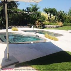 Swimming pond by Pavimento Moderno,