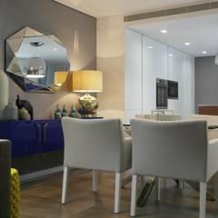 Remodelação de apartamento: Salas de jantar  por AtelierAtelier