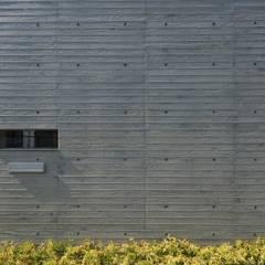 山科の家: Abax Architectsが手掛けた壁です。