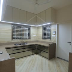 Kitchen units by SPACCE INTERIORS