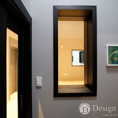 Modern Corridor, Hallway and Staircase by Design Daroom 디자인다룸 Modern
