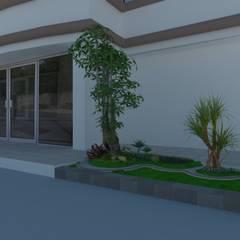 jasa pembuatan taman di gresik:  Halaman depan by Jasa tukang taman gresik