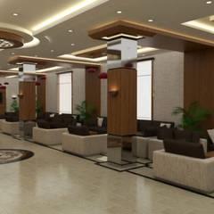 Grand Office  – Span Hotel - Hırvatistan:  tarz Koridor ve Hol, Modern
