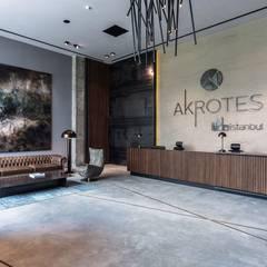 Grand Office  – Akrotes Mimarlık :  tarz Duvarlar, Modern