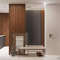 الممر والمدخل تنفيذ Tobi Architects,