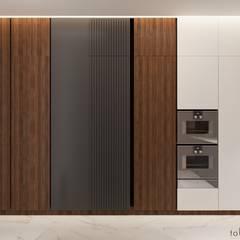 Corridor & hallway by Tobi Architects,