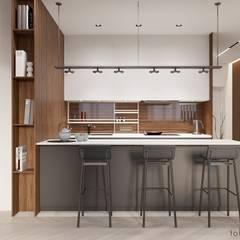 Kitchen by Tobi Architects,