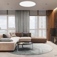 :  Wohnzimmer von Tobi Architects