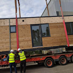 Offsite Building Construction:  Wooden houses by Building With Frames