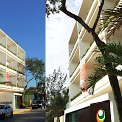 Condominio in stile  di Carlos Gallego