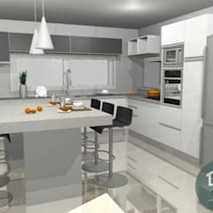 Kitchen units by LPO DIBUJANTES,