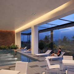 Swimming pond by NEU ARQUITECTURA