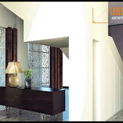 Modern Interior Project: Tangga oleh CV Leilinor Architect,