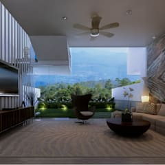 Altitude Sequence:  Ruang Keluarga by AIGI Architect + Associates