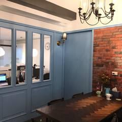 捷士空間設計辦公室設計案 根據 捷士空間設計(省錢裝潢) 古典風