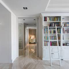 Estudios y biblioteca de estilo  por 禾廊室內設計