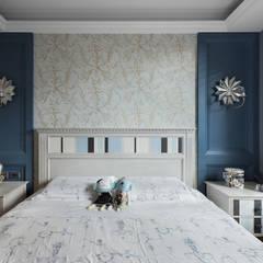 床頭造型:  臥室 by 禾廊室內設計