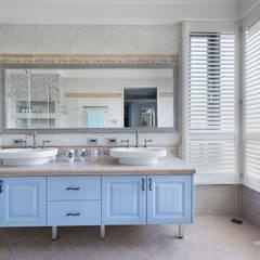 台中 - 科博:  浴室 by 禾廊室內設計