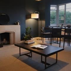 1930s Apartment Redesign: Living Room:  Living room by Lunar Lunar