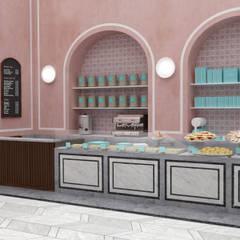 Pistachio Rose - Bakery & Cafe - Counter:  Gastronomy by Lunar Lunar