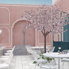 Pistachio Rose - Bakery & Cafe - Garden:  Gastronomy by Lunar Lunar