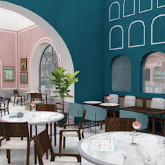 Pistachio Rose - Bakery & Cafe - Seating Area:  Gastronomy by Lunar Lunar