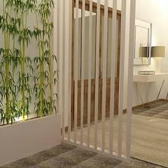 الممر والمدخل تنفيذ Casactiva Interiores , حداثي