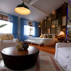 SUPER LOFT: Salas multimídia  por Fernando Menezes Arquitetura