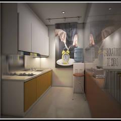 Kantor PT. Cahaya Utama:  Kantor & toko by Q Interior & Arch