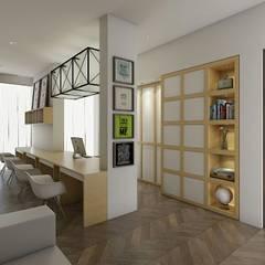 Offices & stores by Desain Konstruksi Arsitektur