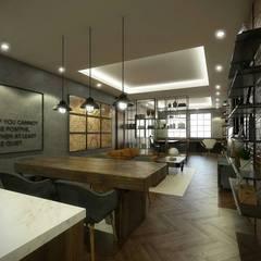 Kelvins Office: Ruang Kerja oleh Desain Konstruksi Arsitektur,