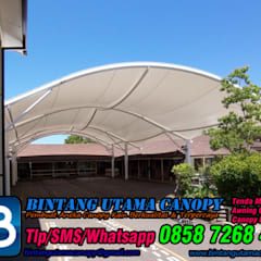 :  Office buildings by Bintang Utama Canopy,Modern Iron/Steel