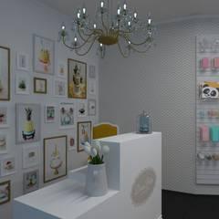 Cake Design: Espaços comerciais  por Versatilis Inovação Design