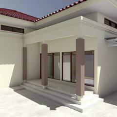 Rumah jabatan dinas peternakan SUL-SEL:  Rumah tinggal  by SEVEN ARCHITECTURE STUDIO