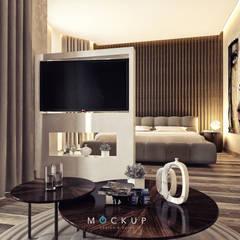 مدينتي - القاهرة الجديدة:  غرفة نوم تنفيذ  Mockup studio