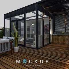 Techos de estilo  por  Mockup studio