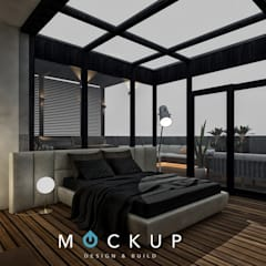 Roof by 	 Mockup studio, Modern