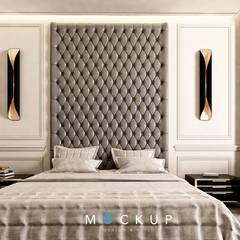 التجمع الاول - القاهرة الجديدة:  غرفة نوم تنفيذ  Mockup studio