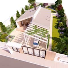Проект частного дома с ландшафтным дизайном участка в Севастополе: Сады в . Автор – Pohalchuk&Co