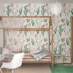 Projekt domu: styl , w kategorii Pokój dziecięcy zaprojektowany przez hexaform