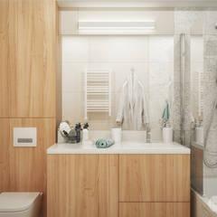 Baños de estilo  por hexaform