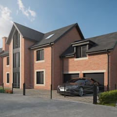 House Type A - Hunt Lane, Chadderton:  Detached home by CRISP3D